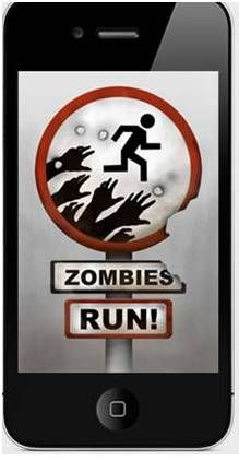 RUNNING FOR DUMMIES: Apps for Runners: The Good, The Bad & The Scary. Run, Zombies! app iPhone running