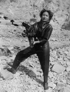 Dottie Frazier - first female diving scuba instructor