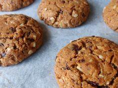 Havermout pindakaas koekjes