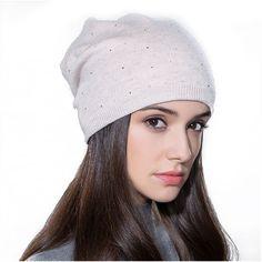 Beanie Hat Beanie Cap Winter Beanies Women Hats Warm Knitted Caps Knitted  Winter Hat 9287053a3c9a
