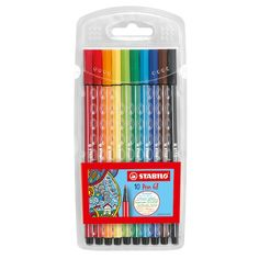 Marker Pen, Permanent Marker, Stabilo Pen 68, Office Stationery, Penne, Color Card, Gel Pens, Lettering, Vibrant Colors