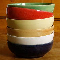 Cherry Red Soup Bowl : Emilia Ceramics