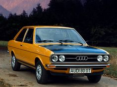 Audi 80 GT (B1) '1973–76