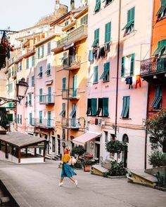 Wandering down the quiet streets of Riomaggiore, Cinque Terre. 💌 No matter where we are, the fresh air mornings are our favorite moment to… Italy Tourism, Italy Travel, Cinque Terre, Flights To Rome, Italy Street, Streets Of Italy, Hiking Routes, Best Of Italy, Cities In Italy