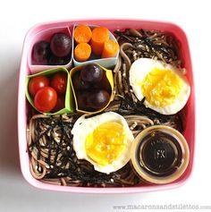 Weekly Bento: Cold Soba Noodle Salad // Macarons + Stilettos