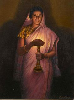 25 Best Oil Paintings by Raja Ravi Varma - 18th Century Indian Traditional Paintings. Follow us www.pinterest.com/webneel