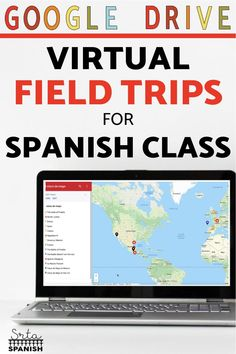 Need some ideas for virtual field trips in your Spanish classroom? Check out these lesson plans and activities to help your classes explore Spanish-speaking countries! These virtual field trips for Spanish class are great sub plans and work well to explore holidays and cultural celebrations. Your middle school and high school students will love this fun activity! Click for a FREE download to try with your students! Spanish Lesson Plans, Spanish Lessons, Spanish Activities, Class Activities, Spanish Classroom, Teaching Spanish, Teaching Culture, How To Speak Spanish, Spanish 1