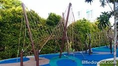 Alexandra Canal Linear Park Rope Playground