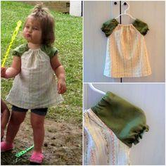 DIY  toddler peasant top (FREE PATTERN)
