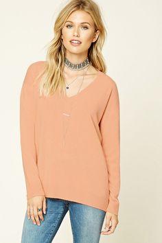 Contemporary V-Neck Sweater