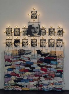 Christian Boltanski. He will have a huge installation in Carriageworks in Sydney for the 19th Art Biennale 2014
