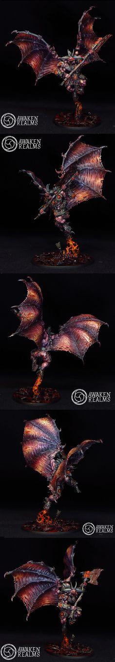 Chaos Daemons Bloodthirster of Khorne