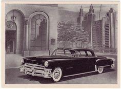 1951 - Chrysler Imperial - illustration