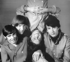 The Monkees, Micky Dolenz, Davy Jones, Mike Nesmith, Peter Tork.