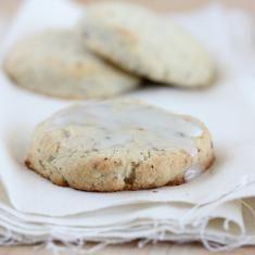 Gluten-free Lavender + Earl Grey Lemon Scones Recipe