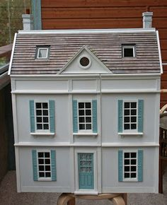 Syreenikuja - dollhouses and miniatures: the artist's house