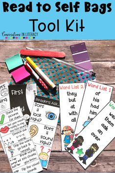 Reading Tool Kits Tips for what to keep inside to make reading meaningful and engaging! #readtoself #guidedreading #readinginterventions #kindergarten #firstgrade #secondgrade #thirdgrade #classroomlibraries #classroom #classroomorganization #elementary #conversationsinliteracy kindergarten, first grade, second grade, third grade