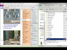 Organizing and Tagging  Digital Scrapbooking Supplies in OneNote