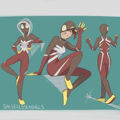Oh heyyy y (We all new this was coming.) Here's my spidersona ! Spider Man's, Spiderman Spider, Character Inspiration, Character Art, Character Design, Spiderman Outfit, Gamer Pics, Superhero Design, Dc Comics