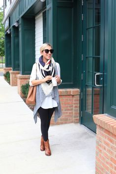 Comfy look for fall