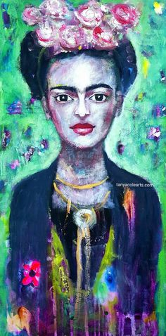 Check out this item in my Etsy shop https://www.etsy.com/au/listing/498211890/whimsical-frida-limited-edition-large
