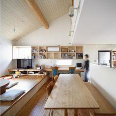 『山手台の家』木の素材感・質量感を生かした和テイストの住まい - 注文住宅事例|SUVACO(スバコ)
