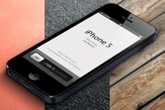 Our latest 3D view iPhone 5 vector mockup template is a fully-scalable vector shape iPhone 5 psd laying down. It comes...