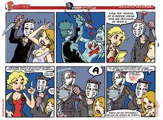B-HUNTERS Las tiras cómicas de abandomoviez.net