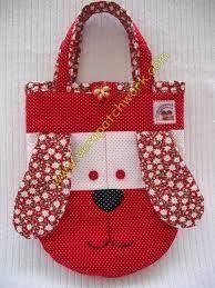 Resultado de imagem para bolsa infantil em tecido e acessórios pendurados