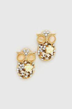 Ivorylicious Owl Earrings