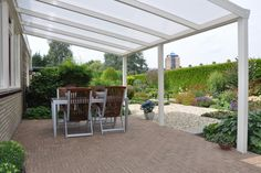 Terrace roofing as a kit or by the architect? Outdoor Pergola, Pergola Kits, Gazebo, Outdoor Decor, Pergola Ideas, Outdoor Life, Outdoor Spaces, Outdoor Gardens, Patio Roof