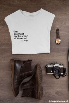 The Spokesman - Unisex Tee Christian Clothing, Christian Shirts, Christian Apparel, Jesus Shirts, White Tees, Mens Tees, Street Wear, Unisex, T Shirts For Women