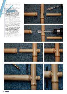 bamboo flooring Some Easy DIY Bamboo Projects - No matter you are looking to make some large structure or small computer cases, bamboo will be your natural choice because it is lightweight, strong a. Diy Bamboo, Bamboo Art, Bamboo Crafts, Bamboo Fence, Bamboo Ideas, Wire Fence, Bamboo Building, Bamboo Structure, Bamboo Construction