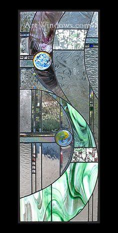 Painted Glass Art Martha Stewart Wine Glass Art Diy – J. Stained Glass Rose, Modern Stained Glass, Stained Glass Designs, Stained Glass Panels, Stained Glass Projects, Stained Glass Patterns, Fused Glass, Glass Beads, Broken Glass Art