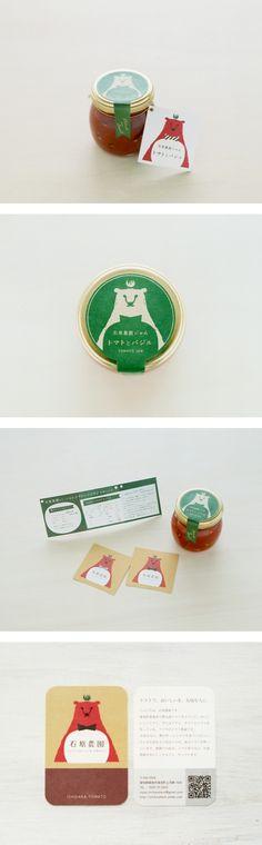 石原農園トマトジャム | オイシイワークス So cute : ) PD