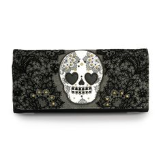 Loungefly Skull And Lace Wallet - Loungefly - Brands gahhh! I love this design.