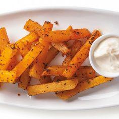 Courge musquée en frites au four - Recettes - Cuisine et nutrition - Pratico Pratique