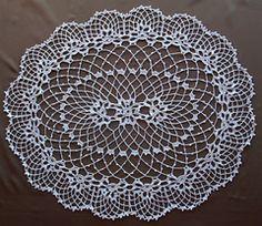 Ravelry: Irish Crochet Doily pattern by The Spool Cotton Company.. Free pattern!
