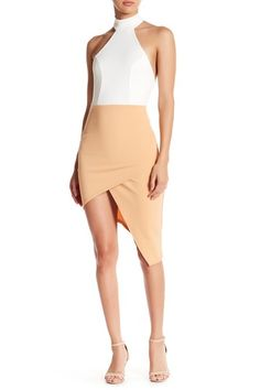 T-Back Asymmetrical Dress by Missguided on @nordstrom_rack