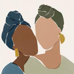 illustration line art graphics \ illustration line art ` illustration line art graphics ` illustration line art simple Art And Illustration, Photography Illustration, Portrait Illustration, Black Girl Art, Art Girl, Arte Sketchbook, African Art, African Beauty, Aesthetic Art