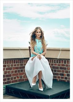 Sarah Jessica Parker for anaZahra Magazine July 2015 by An Le