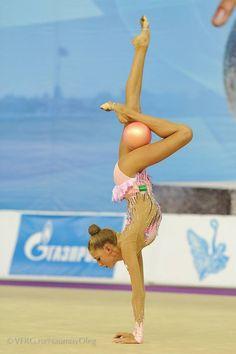 Maria Titova au ballon