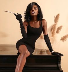 """Pretty ass, high class, anything goes. 🥂"" Creative Director/MUA/Hairstylist/Model Link in bio! Classy Aesthetic, Black Girl Aesthetic, Black Girl Magic, Black Girls, Black Is Beautiful, Beautiful People, Mode Pin Up, Photo Glamour, Photography Poses"