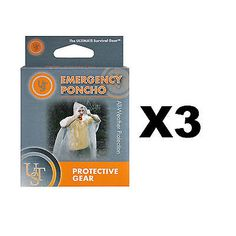 Ultimate survival #technologies #emergency poncho clear ultralight #jacket (3-pac,  View more on the LINK: http://www.zeppy.io/product/gb/2/132040839748/