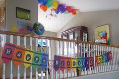 crayon+birthday+party+ideas | Crayon Birthday Banner Crayon Birthday Parties, Colorful Birthday Party, Rainbow Birthday, Colorful Party, First Birthday Parties, 3rd Birthday, Birthday Party Themes, Birthday Ideas, Birthday Banners