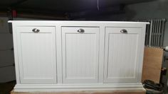 Three Bin Laundry Sorter   Do It Yourself Home Projects from Ana White