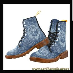 In Fashion Mens Shoes Mens Fashion Website, Cheap Mens Fashion, Rave Shoes, Men's Shoes, Hippie Men, Floral Combat Boots, Goth Boots, Comfortable Mens Shoes, Hippie Outfits