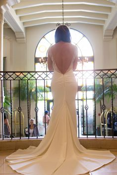 Our bride Claudia in the Katie May Verona gown
