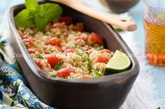 Tipili (Bulgur salad) -Dominican Republic variation of Tabouleh, the national Lebanese salad, brought to Dominican Republic by Middle Eastern iimmigrants over a century ago