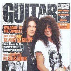 Slash and Gilby Clarke :)